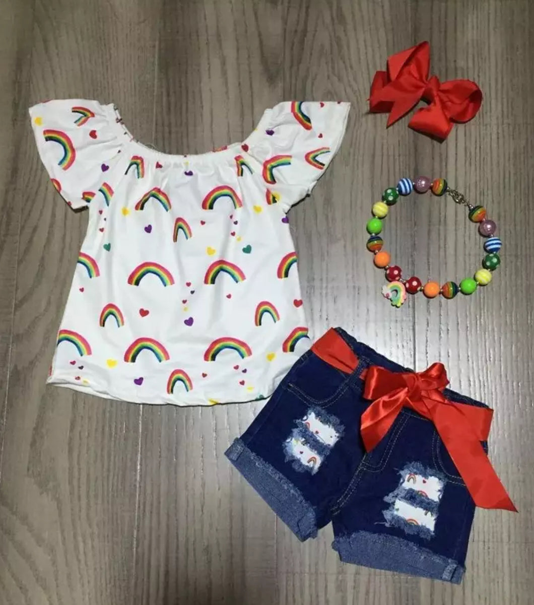 Rainbow Girls Outfit