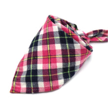 Load image into Gallery viewer, Flannel Pet Bandanas