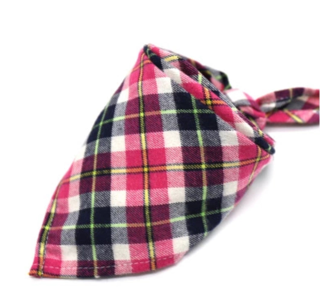 Flannel Pet Bandanas