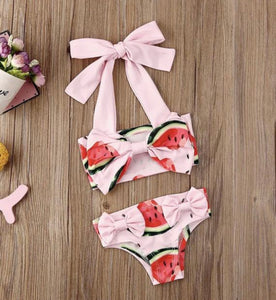 Watermelon Bow Bikini