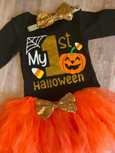 Load image into Gallery viewer, My 1st Halloween Tutu Set