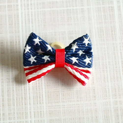 Mini Patriotic Bows
