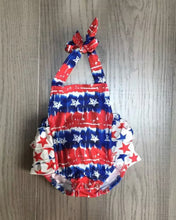 Load image into Gallery viewer, Patriotic Baby Romper