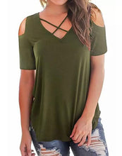 Load image into Gallery viewer, Mommy & Me Cold Shoulder Top