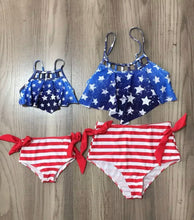 Load image into Gallery viewer, Mommy and Me Patriotic Bikini