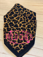 Load image into Gallery viewer, Leopard Wild Child Pet Bandana