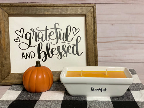 Spiced Pumpkin Streusel Candle