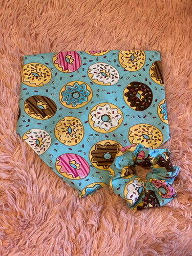 Donut Dog Bandana Mommy and Me Set