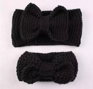 Mommy and Me Headband Ear Warmers