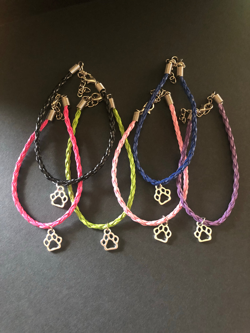 Match your Pup Paw Print Bracelet