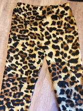 Load image into Gallery viewer, Leopard print pumpkin legging set