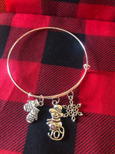 Load image into Gallery viewer, Christmas Bangle Bracelets