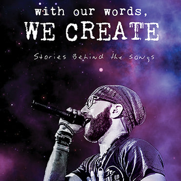 With our words