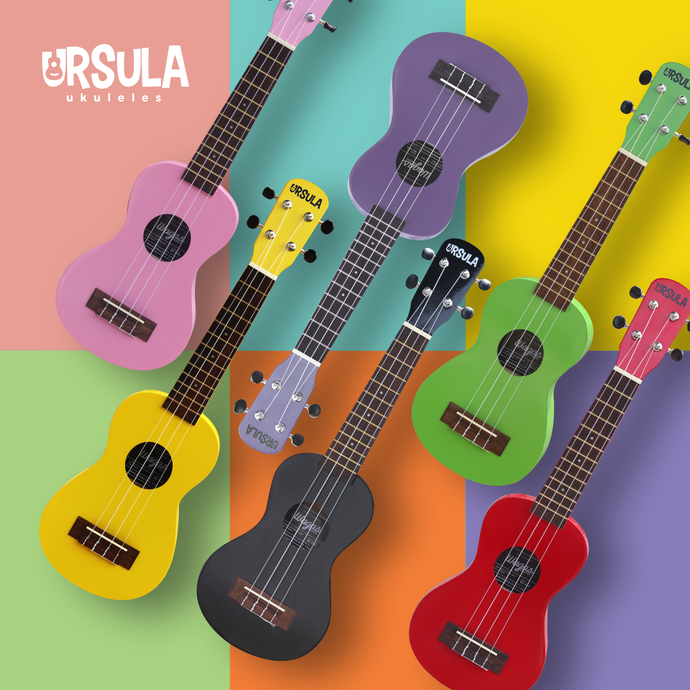 Color Psychology: What Does Your Favorite Ukulele Color Say About You?