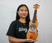 Load image into Gallery viewer, Traditional Spiral Travel Ukulele - Wagas Ukuleles