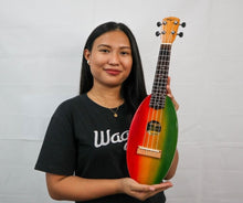 Load image into Gallery viewer, RASTA TRAVEL UKULELE - Wagas Ukuleles