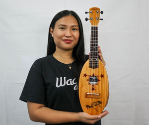 PHILIPPINE MAP TRAVEL UKULELE - Wagas Ukuleles