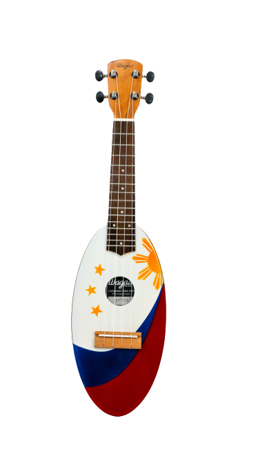 Philippine Flag Travel Ukulele - Wagas Ukes