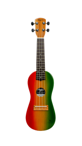 Traditional Rasta Travel Ukulele - Wagas Ukes