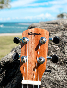 LIMITED EDITION: Tropical Paradise Premium Travel Ukuleles - Wagas Ukes