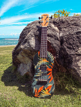 Load image into Gallery viewer, LIMITED EDITION: Tropical Paradise Premium Travel Ukuleles - Wagas Ukes