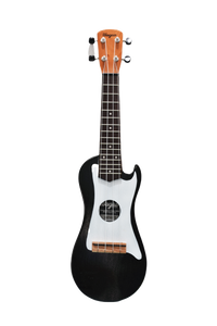 Rocky Black Travel Ukulele - Wagas Ukes