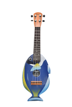 Load image into Gallery viewer, Blue Tang Travel Ukulele - Wagas Ukuleles