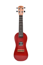 Load image into Gallery viewer, TRADITIONAL RED TRAVEL UKULELE - Wagas Ukuleles