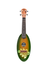 Load image into Gallery viewer, SUNBURST BIG LEAF TRAVEL UKULELE - Wagas Ukuleles