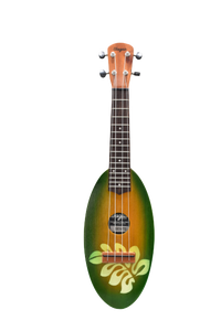 SUNBURST BIG LEAF TRAVEL UKULELE - Wagas Ukuleles