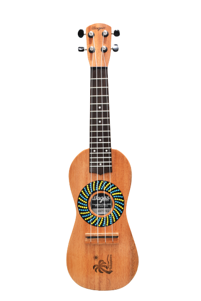 TRADITIONAL SPIRAL TRAVEL UKULELE - Wagas Ukuleles