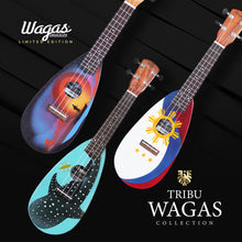 Load image into Gallery viewer, LIMITED EDITION: Tribu Wagas Premium Travel Ukuleles - Wagas Ukes