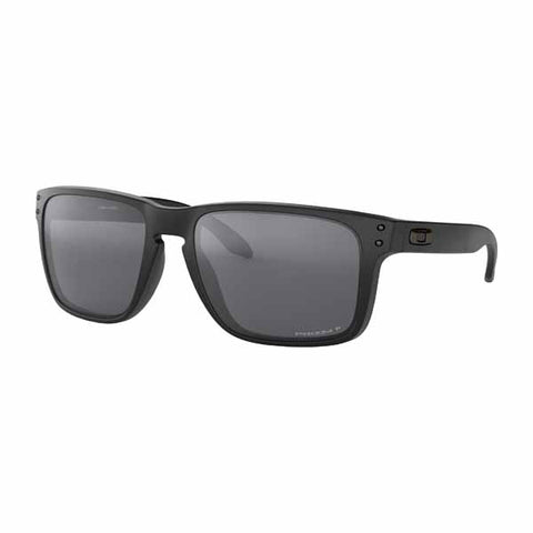 OA-OO9417-0559 - Oakley Holbrook XL Polarised Sunglasses in Matte Black frame with Prizm Black Polarized lens
