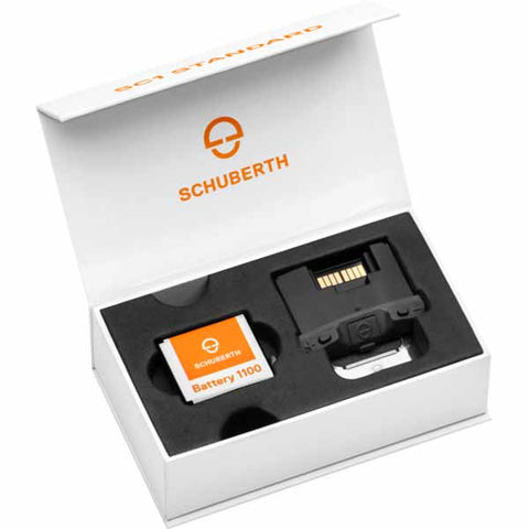 SCH-9049100331 - SCHUBERTH SC1 Basic - communication perfectly integrated. Compatible with SCHUBERTH C4 and R2 helmets.