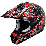 Peak for THH #11 black/red Warrior offroad/dirt helmet