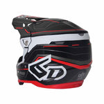 6D ATR-2 adult offroad/dirt helmet in Circuit Black colourway