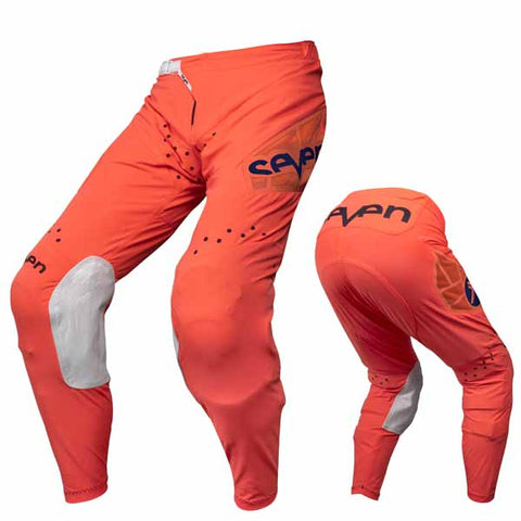 Seven's Zero Victory pants in coral colourway