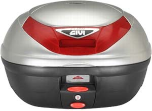 Givi E350G730 Monolock Case Silver Painted