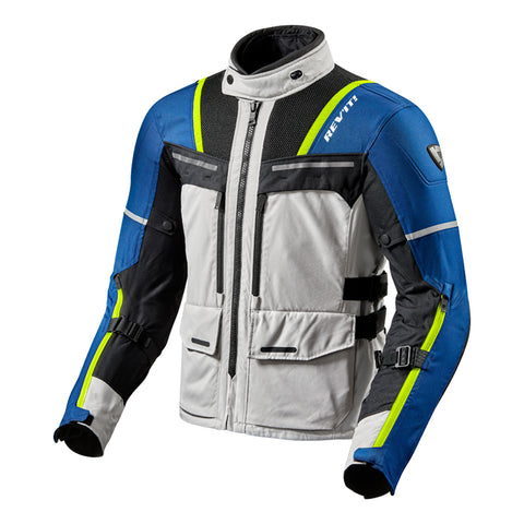 FJT265_4030 Off Track Jacket Silver/Blue