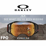 Oakley Prizm lenses - made for more than just spotting obstacles, the Prizm MX lenses help you see subtle transitions in dirt conditions so you can master all those split-second decisions to make the most of the ride