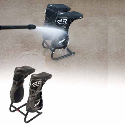 DF-D058-0101 - The DRC Boots Wash stand is designed for easy motocross boots washing