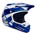 Fox V1 Race Helmet Visor Blue