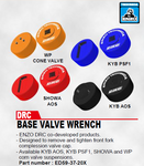 DRC Enzo Base Valve Wrench - available on indent only (DF-ED59-37-20x)
