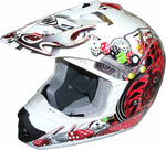 THH TX-12 Joker in white's price does not reflect the style, comfort and protection that is offered by this helmet