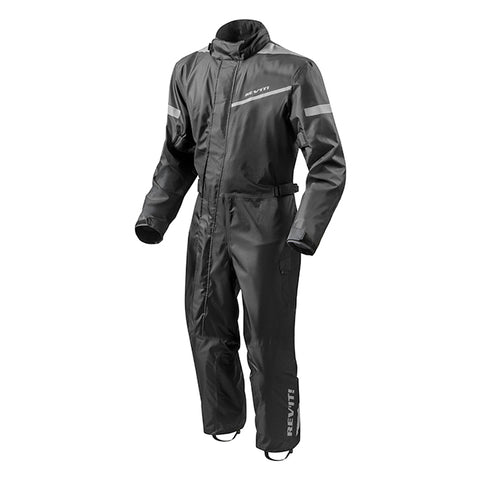 REVIT FRC008 Pacific 2 Rainsuit Black Front