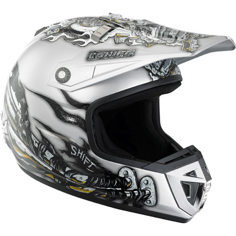 Shift Agent Helmet Pipes Visor Grey