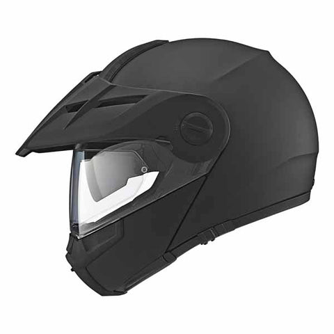 SCH-E1-711-xxx - SCHUBERTH E1 adventure helmet in Matte Black colourway