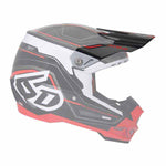 6D-72-6006 - Peak/visor for the 6D ATR-2 adult offroad/dirt helmet in Circuit Black colourway
