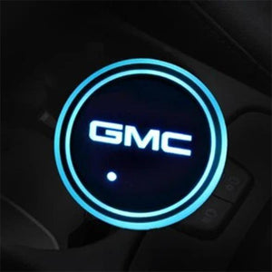 (50% OFF LAST DAY) 7 Colors Led Car Logo Cup Lights up Holder