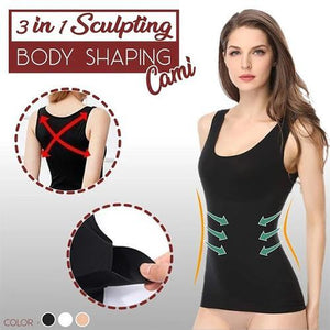 3 in 1 SCULPTING BODY SHAPING CAMIISOLE(Buy 2 FREE SHIPPING)
